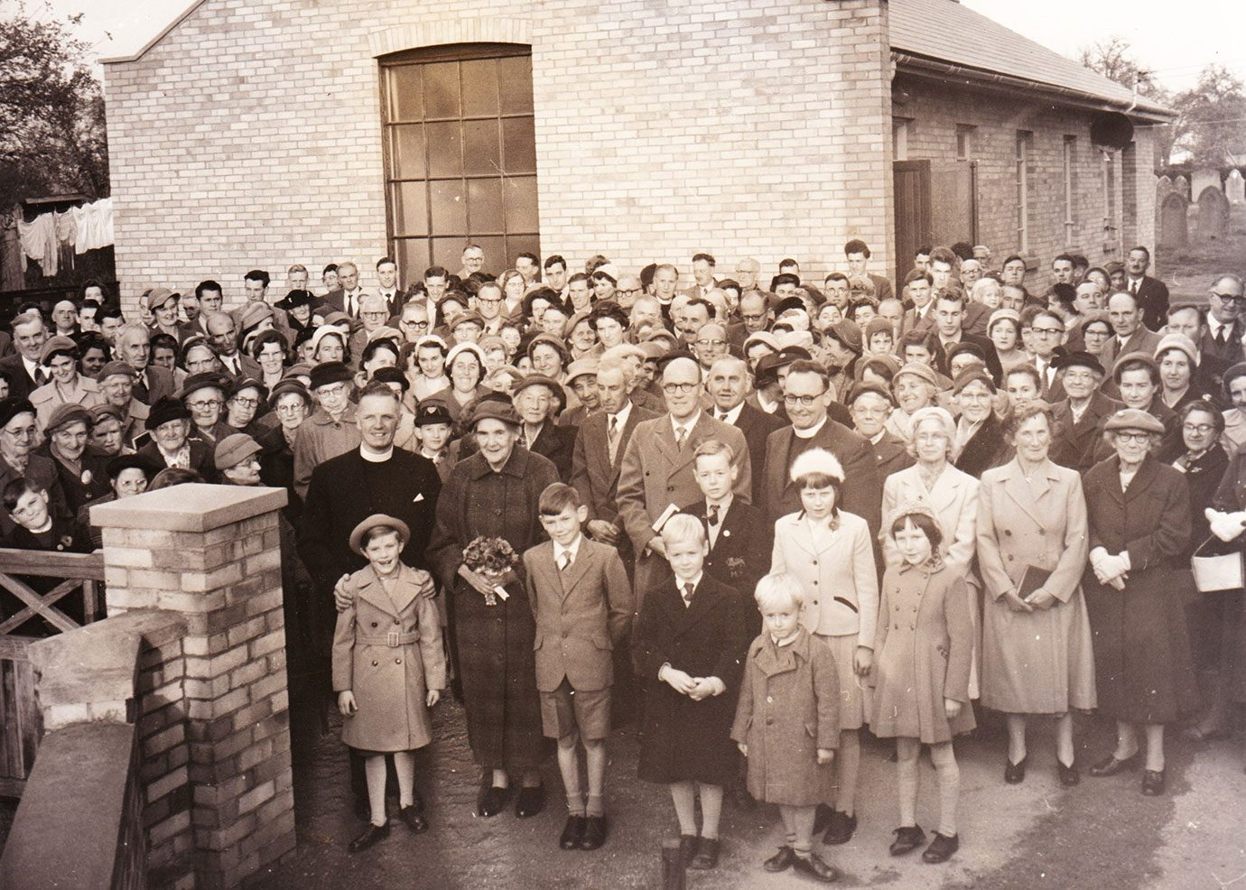 Opening of the new church hall, 1960